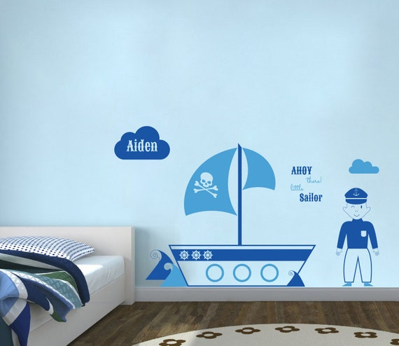 Wall Wear Decals WW-150  Aiden Name