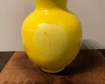Royal Haegar Yellow Vase, Wedding gift, Bridal shower, Birthday, Mothers day, Vintage, Contemporary