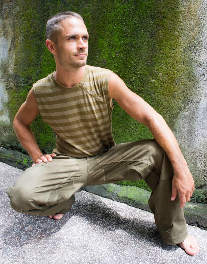 Rave Outfit Army Pants Cargo Pants Men Mount Comfort Pant Army Cyberpunk Pants Climbing Pants