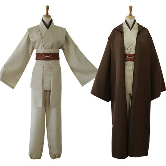 Halloween Cosplay Costume Star Wars Women Men Jedi Warrior Hooded Cloak Robe