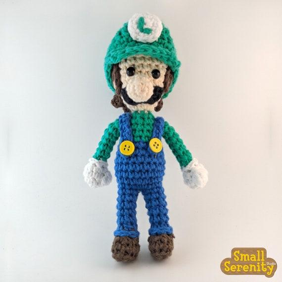 Luigi | Mario crochet, Crochet, Crochet dolls | 570x570
