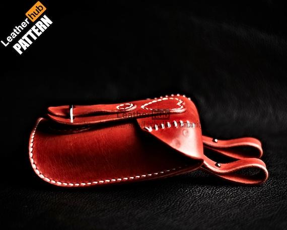 Waist bag leather pattern PDF - by Leatherhub