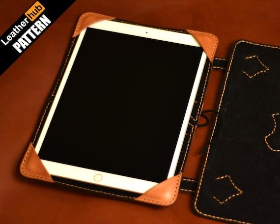 Ipad case leather pattern PDF - by Leatherhub