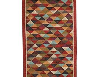 vintage rug 1.4 x 4.3 ft Free Shipping  area rug bathroom rug frontdoor rug,Pale wool rug MB10450 turkish rug small rug doormat rug