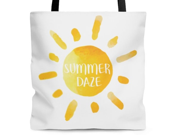 Summer Daze Tote Bag, summer, beach tote, tote bag, tote bags, shoulder bag, summer bag, summer daze, summer tote bag, vacation tote bag