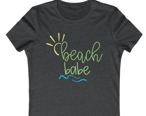 Beach Babe Summer Tee, beach tee, vacation shirt, family vacation tee, summer tee, beach babe, women's tee, summer tshirt, beach babe tee