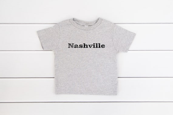 Nashville toddler kids tshirt Nashville TN toddler tee children's size tshirt
