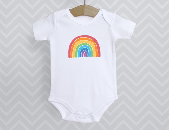 Rainbow baby, infant bodysuit tshirt, newborn clothing unisex, rainbow choose kindness joy happy