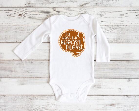 Thanksgiving baby bodysuit, Funny baby shirt, cute Thanksgiving baby outfit, baby outfit, baby shirt, Thanksgiving baby shirt