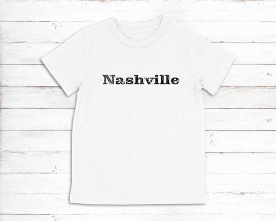 Nashville kids tshirt Nashville TN youth tee childrens size tshirt toddler shirt Nashville Strong Tennessee