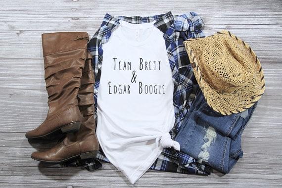 Team Brett & Edgar Boogie tshirt, brett eldredge tshirt, country music tshirt, womens tshirt, edgar boogie, country concert tee