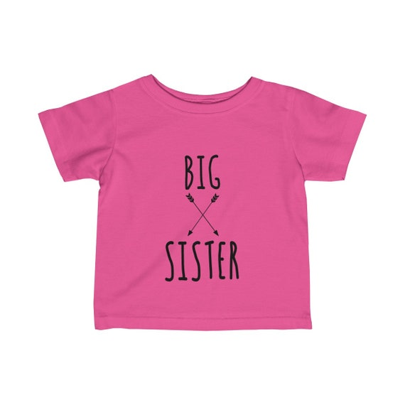 Big Sister tshirt, big sister shirt, big sister gift, sister shirt, big sister to be, sibling tee, baby announcement tee