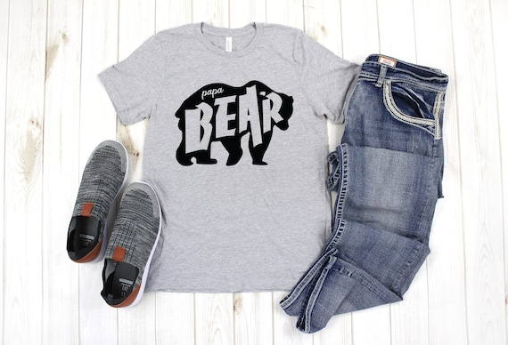 Papa Bear T-Shirt, Father's Day shirt, Father's day gift, Papa Bear, Father gift, Papa bear tshirt, Gift for husband, Gift for new dad