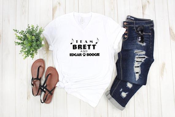 Brett Eldredge tshirt Team Brett and Edgar Boogie tshirt, Country music tshirt, country concert shirt Brett Eldredge