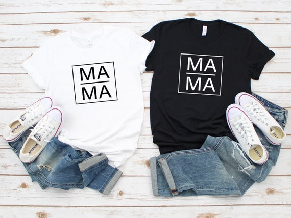 Mama tshirt, modern mom t-shirt, cute mom tee, womens unisex clothing, mama life tee, clothing, mama shirt, mom life t-shirt