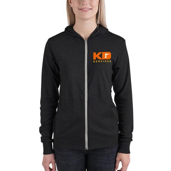 Custom order business logo sweatshirt zip up hoodie for women, your logo here shirt
