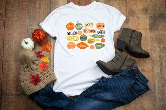 Halloween Pumpkin Shirt, Pumpkin Varieties T-shirt, Pumpkin Shirt, Pumpkins T-shirt, Pumpkin Shirts, Pumpkin Shirt For Women, Halloween Tees