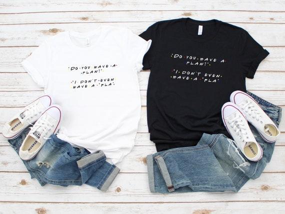 Friends tshirt, funny Friends tv show shirt,  womens clothing, adult unisex tshirt