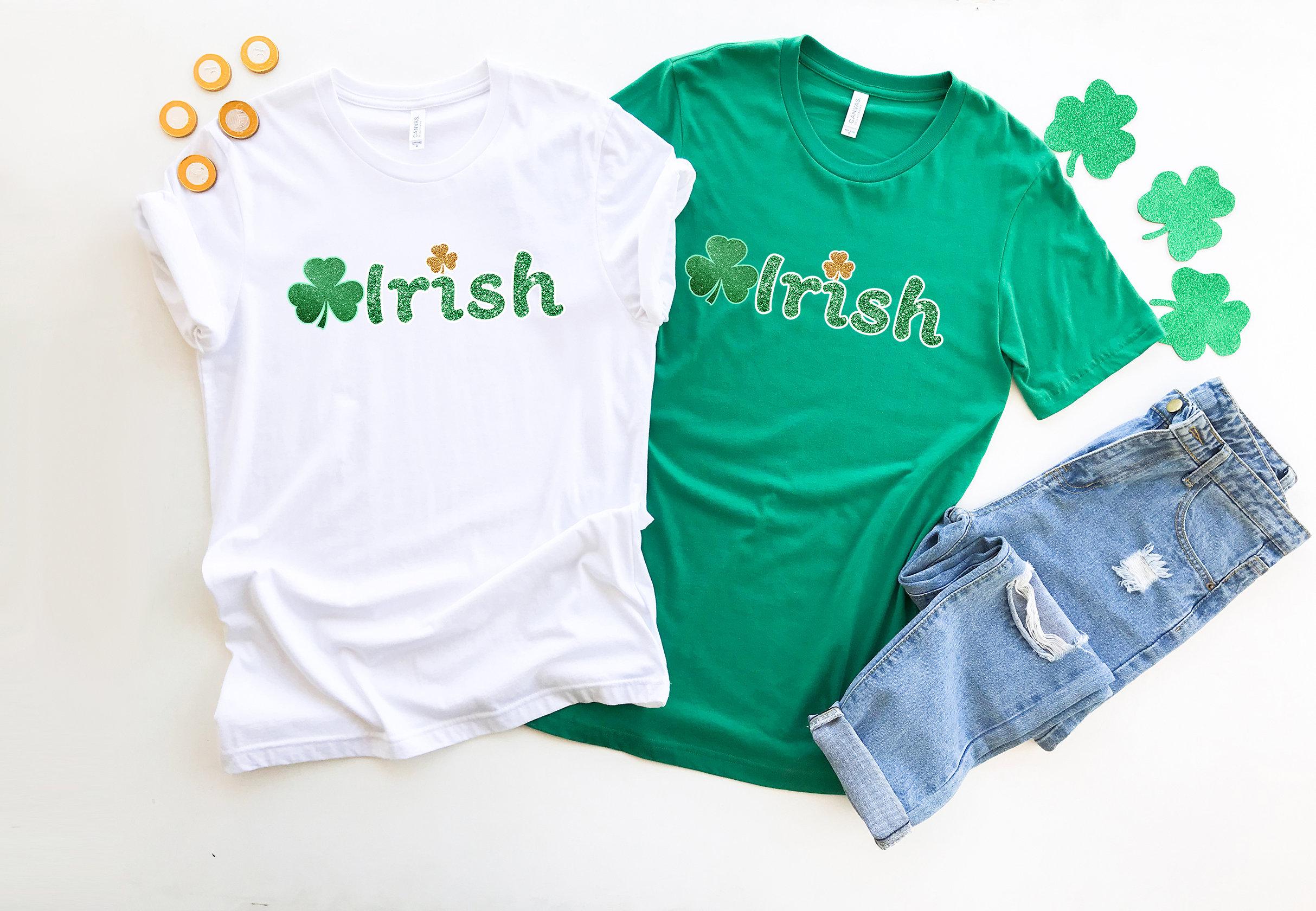 St Patricks Day Luck Of The Irish White Toddler T-Shirt