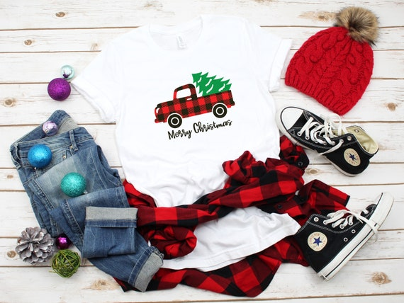 Merry Christmas tshirt, Christmas shirt, cute Christmas tshirt womens tee, holiday tshirt, Christmas t-shirts