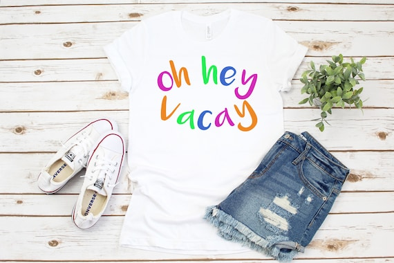 Oh Hey Vacay Beach shirt for women, vacation outfit woman clothing summer clothes vacation outfit spring break family vacation travel shirt