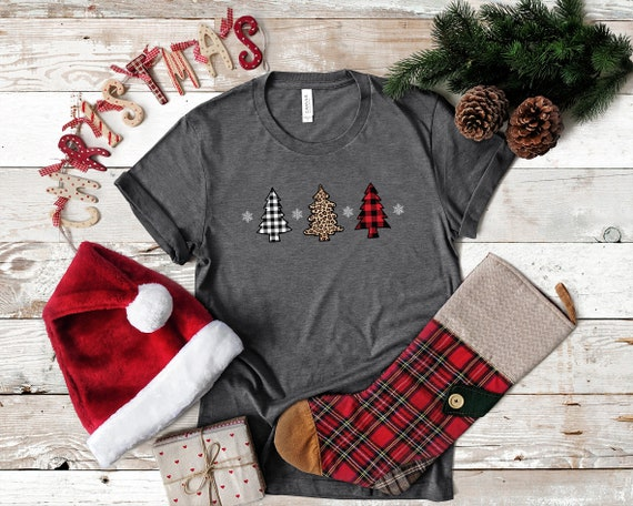 Christmas Tshirt, Christmas tree shirt, shirt for Christmas, Cute Christmas shirt
