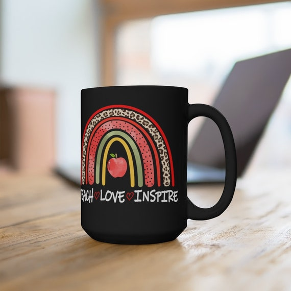 Teacher mug, new teacher mug, teacher gift, gift for a new teacher, teacher appreciation coffee mug, mug for teacher, end of year teaching