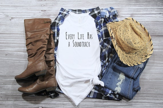 Every Life Has a Soundtrack Brett Eldredge tshirt country music tshirt country concert tshirt country song lyric shirt womens unisex tee