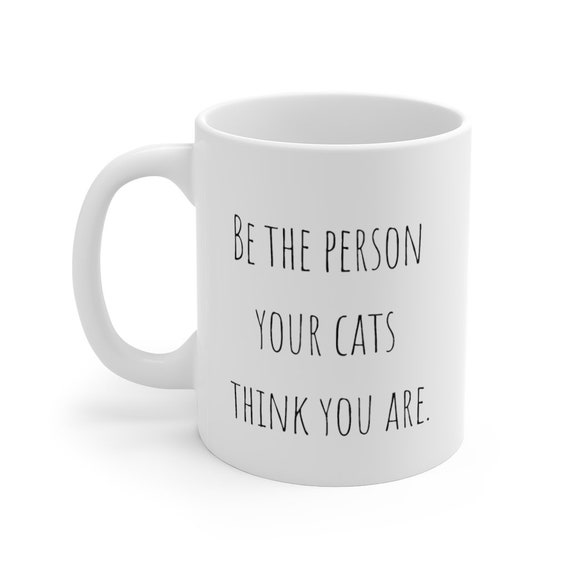 Funny mug for cat lover 11oz gift for her ugly cat lady mugs coffee mug christmas gift white elephant present