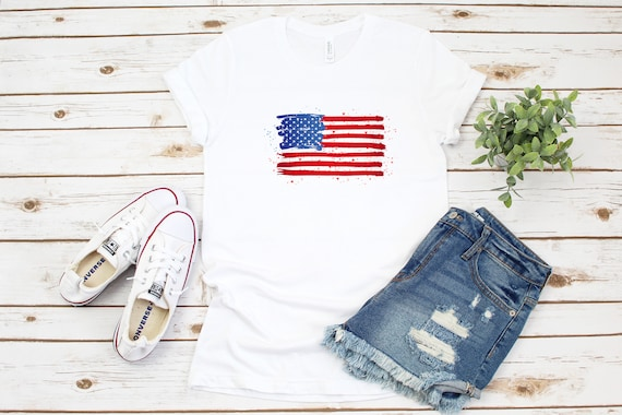 USA tshirt, America t-shirt, 4th of July, Independence Day, Memorial Day, patriotic tshirt
