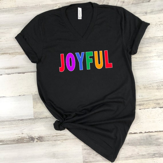 Joyful tshirt Christmas shirt, xmas shirt, Christmas tshirt, holiday tshirt for women, Merry Christmas tshirt believe shirt