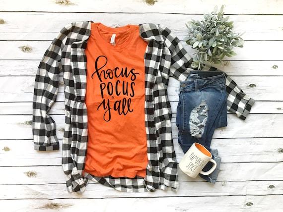 Hocus Pocus Y'all, halloween tee, halloween tshirt, hocus pocus tshirt, womens tshirt for halloween, hocus pocus