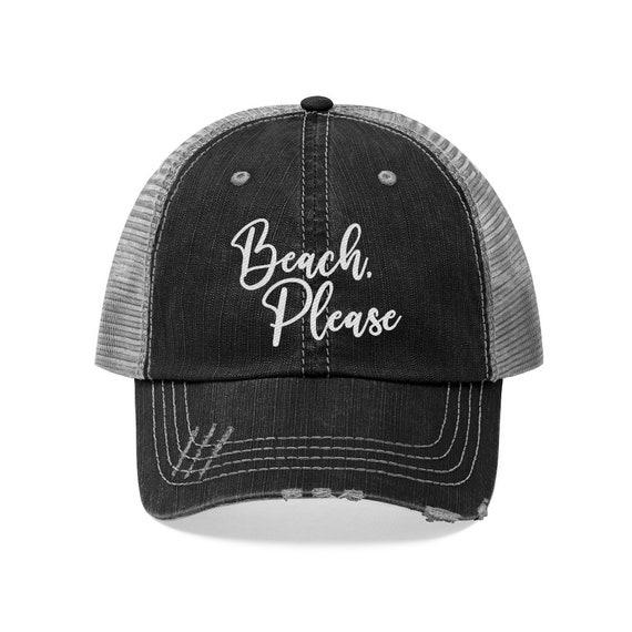 Beach Please baseball cap, Women's Beach Baseball Cap, Beach Baseball Cap, Women's Beach Hat, Beach Please Hat, Beach Hat, Cute Beach Hat