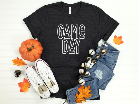 Game Day Tee, Football tshirt, College Game Day, Football Game Day Shirt, Football Day, Game Day Shirts, Game Day Football