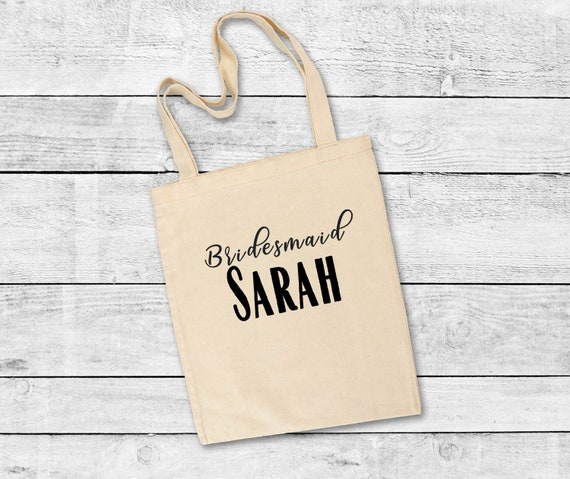 Maid of Honor Tote Bag, bridesmaid gift, wedding, bridal party, bridesmaids, gifts, tote bags for bridesmaids, wedding, wedding party gift