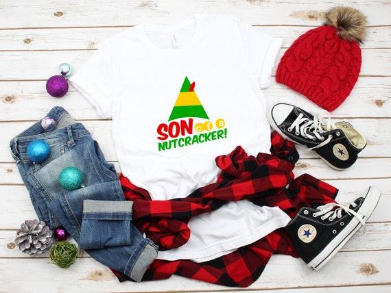 Christmas tshirt, Elf movie tshirt, Elf tshirt, Christmas shirt, Holiday tshirt, Cute Christmas shirt