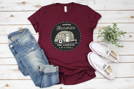 Camping gifts tshirt adventure is out there shirt for campers outdoorsy shirt for her camping gifts