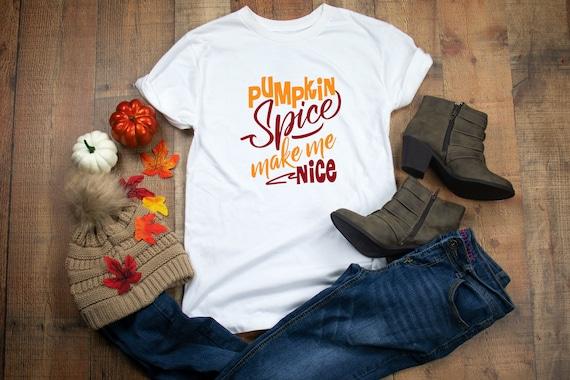 Pumpkin Spice shirt, cute fall shirt, womens tshirt, cute pumpkin shirt, fall pumpkin patch shirt pumpkin spice tshirt