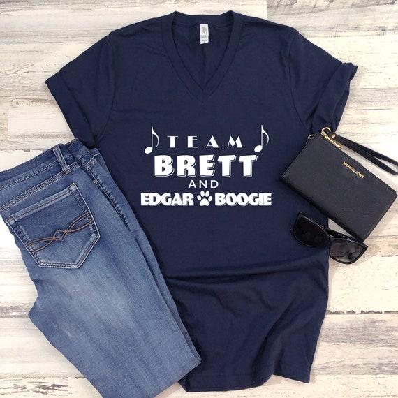 Country music tshirt, Brett Eldredge tshirt, Team Brett and Edgar Boogie, country music shirt, Brett Eldredge
