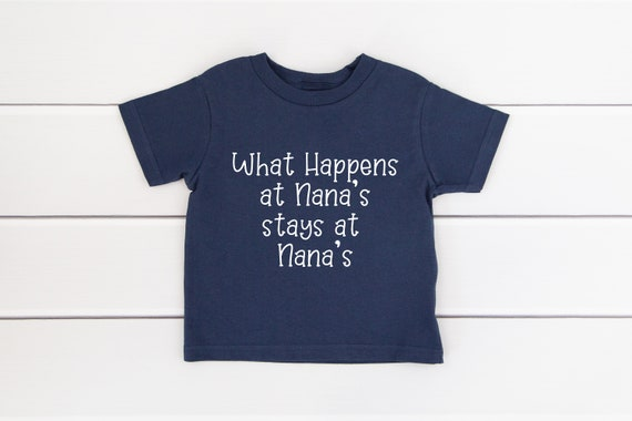 Baby shirt, What Happens at Grandma's, new baby gift, infant shirt, toddler shirt, baby announcement grandparent