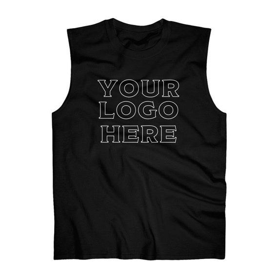 Men's Ultra Cotton Sleeveless Tank custom logo shirt