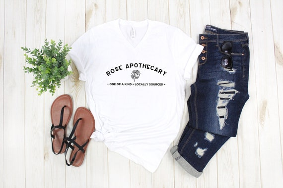 Rose Apothecary tshirt pop culture funny tees gift for her