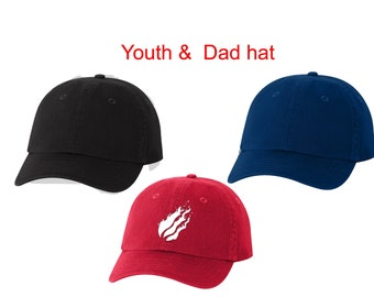 e7a6ecacac62b Prestonplayz Hat Preston youth hat Prestonplayz flame logo hat Prestonplayz  logo Hat Youth and Adult Hat