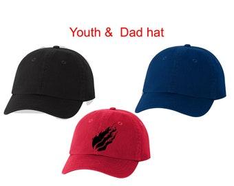 c404574a0563c Prestonplayz Hat Preston youth hat Prestonplayz flame logo hat Prestonplayz  logo Hat Youth and Adult Hat