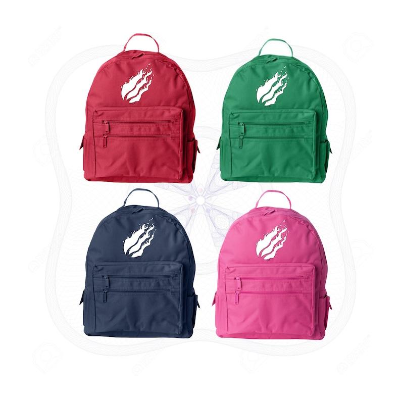 Prestonplayz backpack Preston flame logo backpack Preston Flame logo  backpack Prestonplayz rucksack Preston backpack back to school