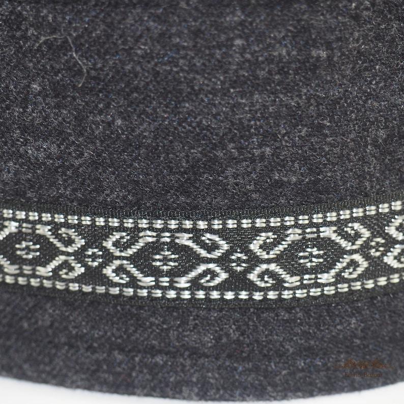Man classic wool brimless kippah kuchi kufi kipa koofi pillbox taqiyah fez tubeteika beanie woolen skullcap smoking cap headwear docker hat