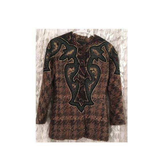 Vintage KOOS Couture by Koos Van Den Akker Patchwo
