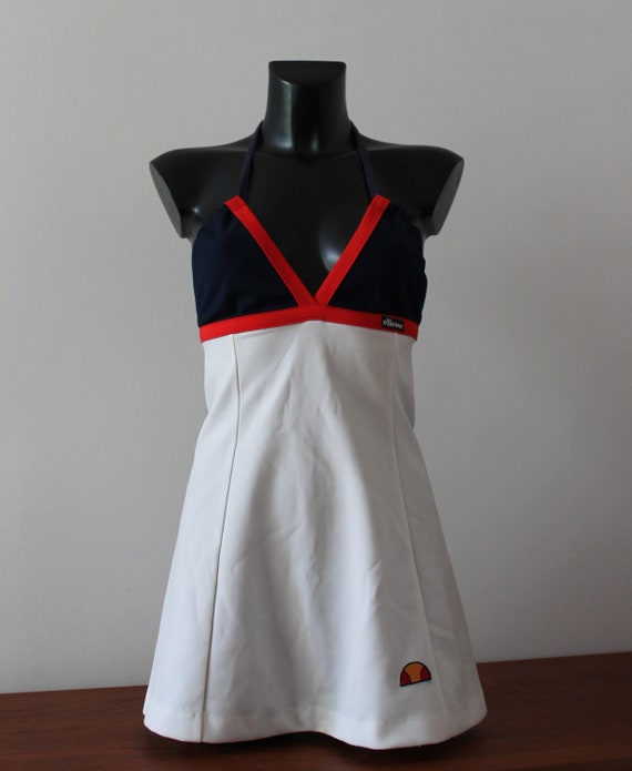 Tennis Dress by Ellesse 70s Italy Vintage