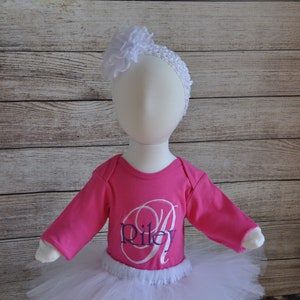 Customized Onesies/' with tutuhair accessories