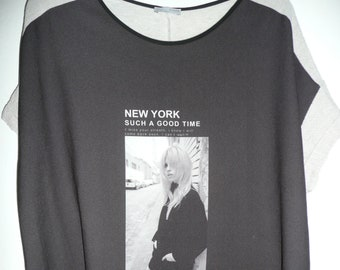 929c96dbf3e ZARA Collection  Portugal NEW YORK Such a Good Time Women blouse